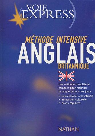 Méthode intensive Anglais britannique LIVRE SEUL