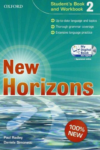 New horizons. Starter-Student's book-Workbook-My digital book. Per le Scuole superiori. Con CD-ROM. Con espansione online: 2