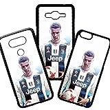 Maxi Ventas Carcasas de movil Fundas de moviles de TPU Compatible con iPhone 5 5s Modelo Cristiano Ronaldo Juventus de Turín Frases