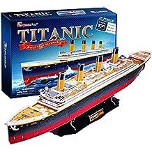 "CubicFun 3D Puzzle Ship-Serie ""Titanic (grande)"""