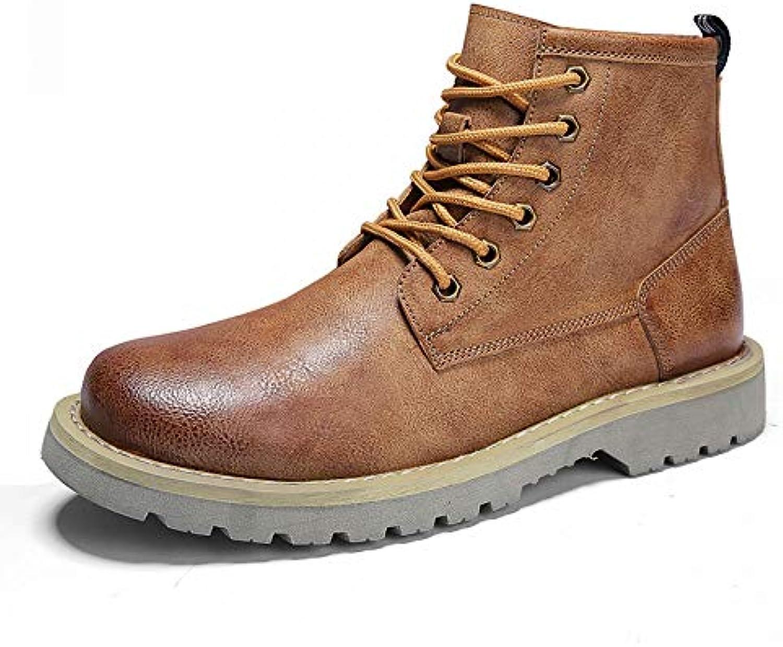 FHCGMX Scarpe Fodera in Cotone Stivali Invernali Scarpe da Lavoro Uomo Scarpe da Uomo Nere Nere da Uomo   Commercio All'ingrosso    Uomini/Donne Scarpa