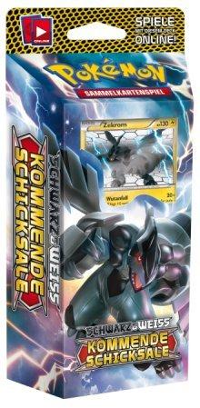 Preisvergleich Produktbild Pokemon Schwarz und Weiss 04,kommende Schicksale (VOLT-VORTEX) Themendeck deutsch. Inhalt 60 Karten, 1 regelbuch / Kartenliste, 1 Spielunterlage für einen Spieler, Inkl. Münze