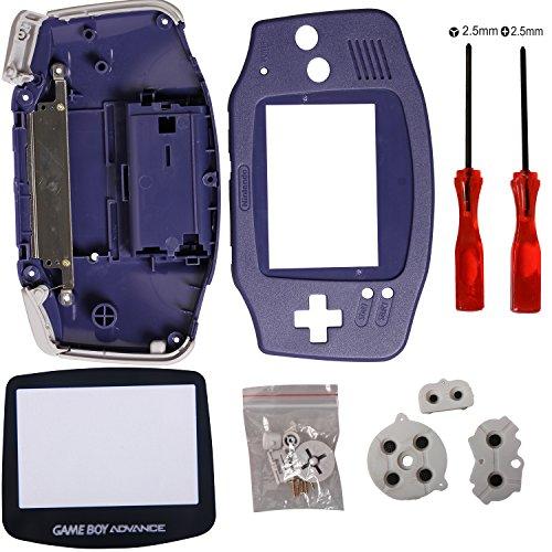 Timorn Reemplazo completo de piezas de Shell Pack para Nintendo Game Boy Advance