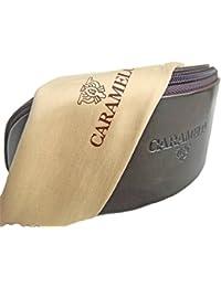 Caramelo Gafas caso y de lente de pano (Brown)