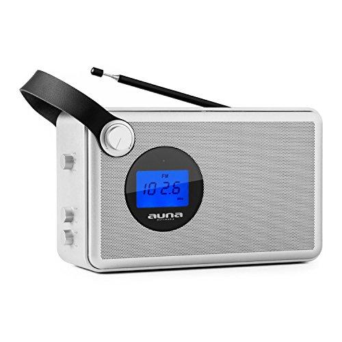 Auna Stepford Radio Portatile Design Vintage (Porta USB SD MP3,
