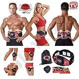 Gymform ABS-A-Round Pro - Cintura per allenamento muscolare, taglia S/M (65-99 cm), L/XL (100-140 cm), prodotto originale dalla pubblicità televisiva