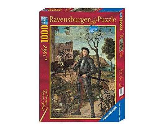 Ravensburger–1000Teile Puzzle, Design Vittore Carpaccio: Porträt von Ritter (193073)