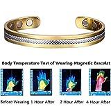 YWRD Magnetarmband Therapie Heilendes Arthritis Relief Karpaltunnel Schmerz...