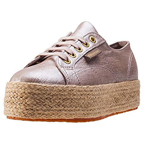 Superga 2790 Linrbrropew, Sneakers Basses mixte adulte - Beige (beige), 36 EU