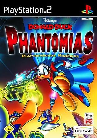 Donald Duck Phantomias  Platyrhyncos Kineticus Playstation 2