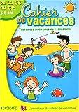 Image de Cahier de vacances de la GS au CP 5-6 ans