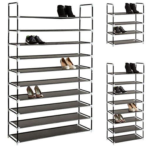 Opiniones tectake estanteria zapatero para calzado armario for Armario para zapatos