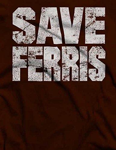 Save Ferris T-Shirt S-XXL 12 Farben / Colours Braun