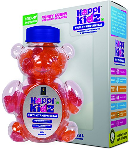 Happi Kidz Multi-Vitamin & Mineral Gummies - 60 Gummy Bears