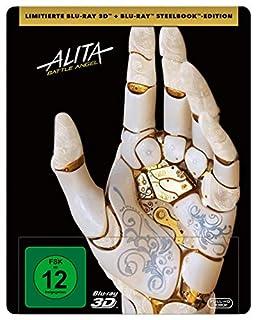 Alita: Battle Angel (3D Steelbook + 2D Blu-ray) [Limited Edition]