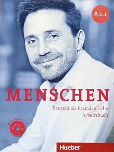 Menschen. A2.1. Arbeitsbuch. Per le Scuole superiori. Con CD Audio. Con espansione online: 3