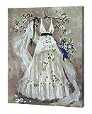 Dragon Troops Gemälde Online Novice Ölgemälde Zeit pflegen Interesse, Hochzeitskleid