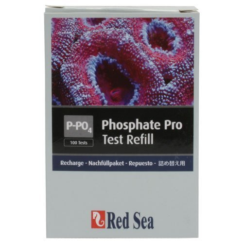 Red Sea Fish Pharm are21426 Reagent Phosphat Pro Refill Kit for Aquarium, 100 Tests by topdawg Pet Supply -