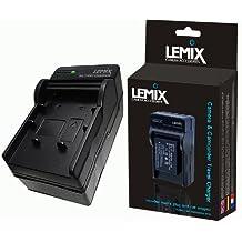 Lemix (NPF550) Cargador de viaje para Sony DCR, HDR, HXR & NEX videocámaras específico para Reino Unido, Europa, Estados Unidos y coche