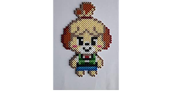 Animal Crossing Marie Pixel Art Perler Beads Perles à Repasser