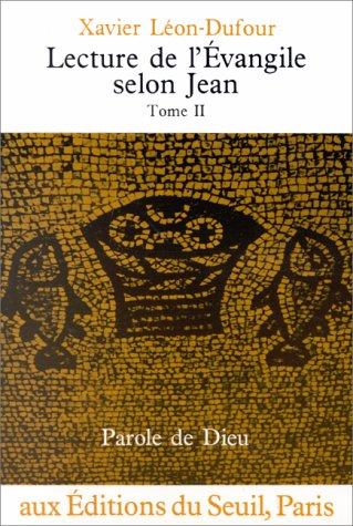 Lecture de l'vangile selon Jean, tome II