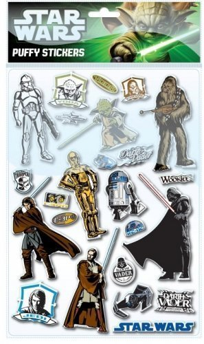 Anker ANKSTSP - Star Wars Puffy Sticker Sheet -