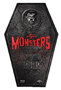 Universal Classic Monsters Collection: Limited Edition Coffin [Blu-ray] [1931] [Region Free]