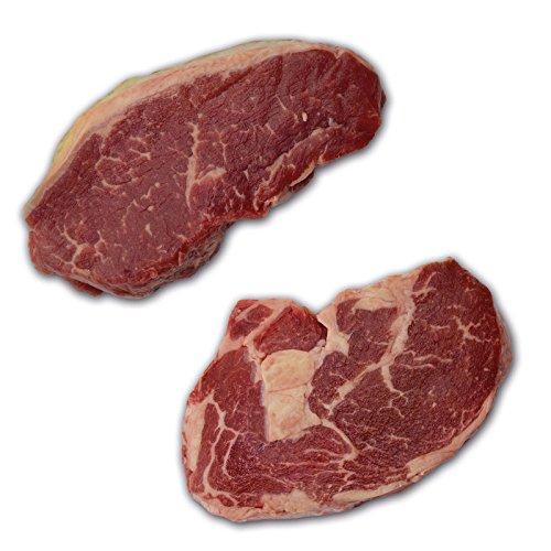 Irish Hereford Prime Dry Aged Steak Paket - je 4 x ca. 300g Steaks: Ribeye + Roastbeef