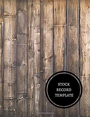 Stock Record Template: Office Supplies Inventory