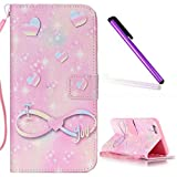 iPhone 5C Coque Antichoc,iPhone 5C Coque Flip Etui de Protection PU Cuir Bookstyle...