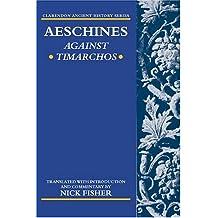 Aeschines: Against Timarchos