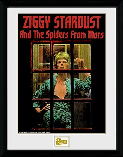 David ltd the best amazon price in savemoney gb eye ltd david bowie ziggy stardust fotografa enmarcada 40 x 30 fandeluxe Image collections