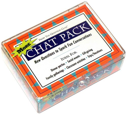 More Chat Pack Cards: New Questions to Spark Fun Conversations por Bret Nicholaus