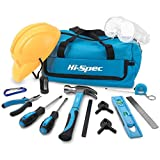 Apollo 14 Piece Children's Tool Kit with Real Hand Tools including Safety Goggles