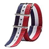 Nato Style impermeabile in nylon balistico bande bracciale cinturino orologio