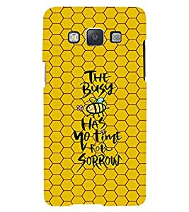 PRINTVISA Quotes Life Case Cover for Samsung Galaxy A7