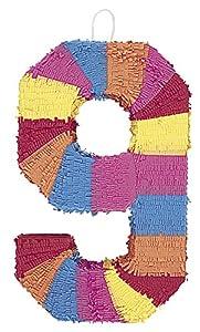 Unique Party- Piñata número 9 (6679)