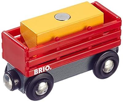 Brio 33565 - Heuwagen mit Heuballen von Brio