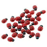 Corsage Creations - Ladybird Stickers - Red (2cm Diameter, 25pcs per pk)