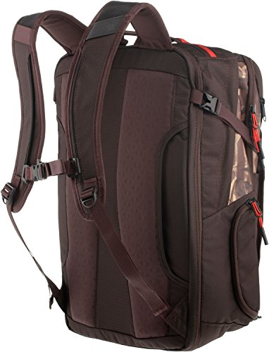 The North Face Damen, Herren Reiserucksack brunette brown print