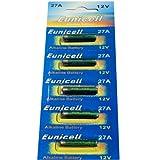 5 X A27 Alkalisch Batterien MN27, 27A, V27GA, L828 Eunicell