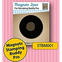 Nellie Snellen STBM001 Spare magnets 2 pcs/pkg for stamping buddy Pro STB002