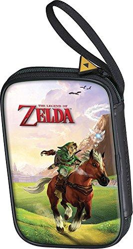 Offizielle Nintendo New 3DS und 2DS XL / 3DS XL – Tasche/Hülle | 4 Motive zur Auswahl | Schützt den Nintendo 3DS ; Motiv: Link Farbig