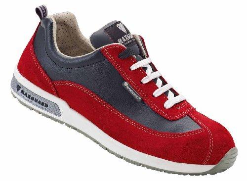 Maxguard Demy D374, Chaussures de Sécurité Mixte Adulte Rouge
