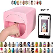 Portable 3D Digital Nail Art Printer Smart Nail Painting Machine Fast Nail Art Pattern Printer, DIY Multifunct