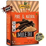 Mulethi Powder For Skin Whitening 200 Grams,Licorice Powder For Skin, Hair, Double Filtered