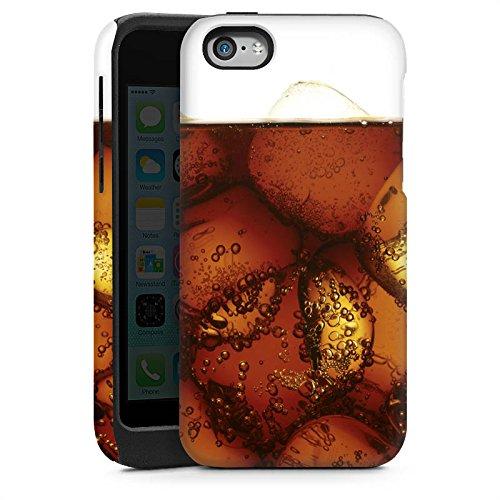 Apple iPhone 4 Housse Étui Silicone Coque Protection Coca Boisson Glaçon Cas Tough brillant