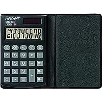 Ribelli a Re-shc208pratico Calcolatrice, 8cifre Display LCD, pannello solare, Triplice funzione di memoria, per cellulare, colore: nero - Confronta prezzi