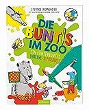 Die Buntis im Zoo: Ein kunterbuntes Vorlese- & Malbuch