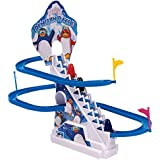 Sale Baba Funny Penguin Battery Operated Race Toy, Multi Color